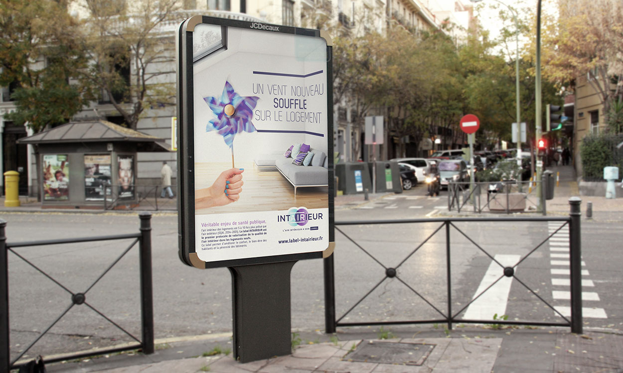 Campagne communication Intairieur