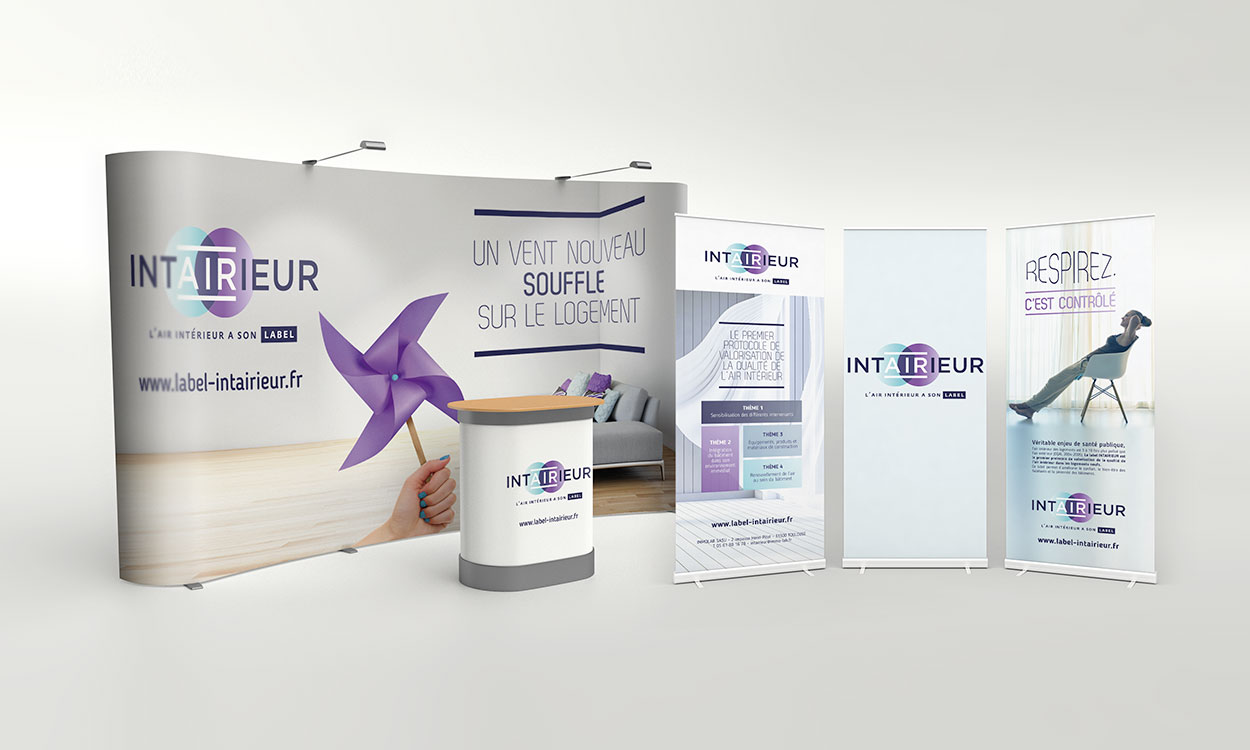 Supports stand salon Intairieur