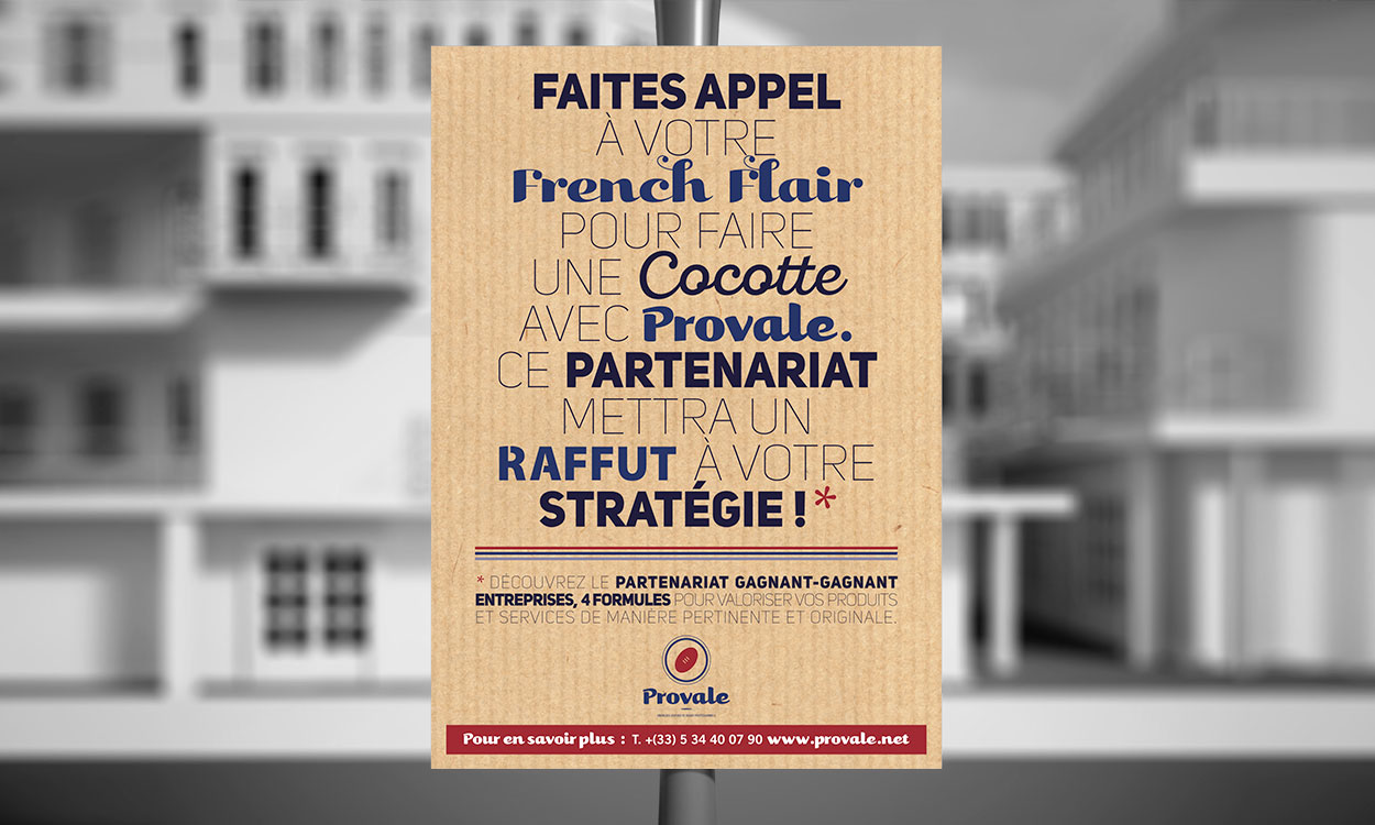 Affiche campagne Provale