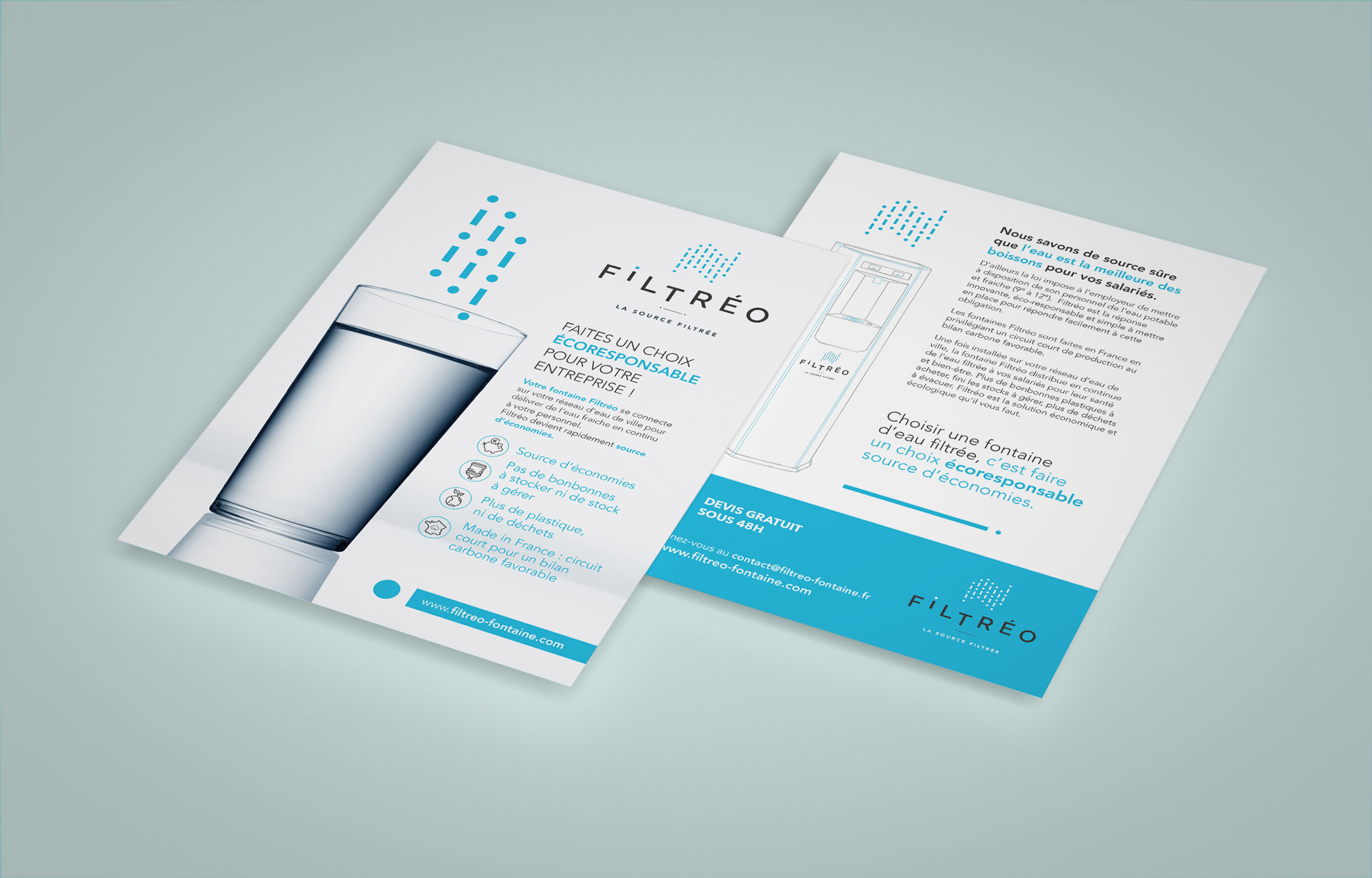 Filtréo - Flyer